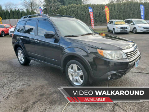 2009 Subaru Forester for sale at McMinnville Auto Sales LLC in Mcminnville OR