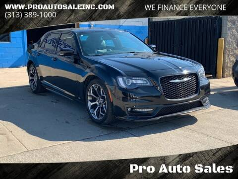 2017 Chrysler 300 for sale at Pro Auto Sales in Lincoln Park MI