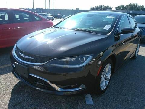2015 Chrysler 200 for sale at KAYALAR MOTORS in Houston TX
