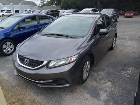2015 Honda Civic for sale at ORANGE PARK AUTO in Jacksonville FL