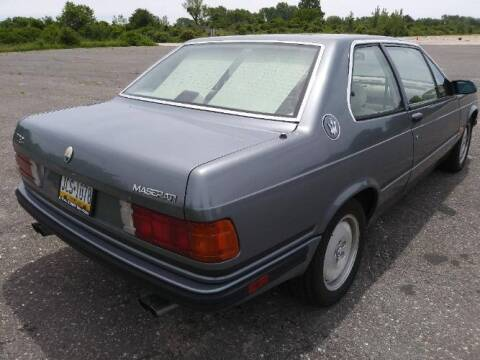 1989 Maserati 228i for sale at Classic Car Deals in Cadillac MI