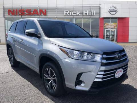 2017 Toyota Highlander for sale at Rick Hill Auto Credit in Dyersburg TN