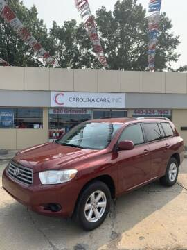 2010 Toyota Highlander for sale at Carolina Cars, Inc. in Elyria OH
