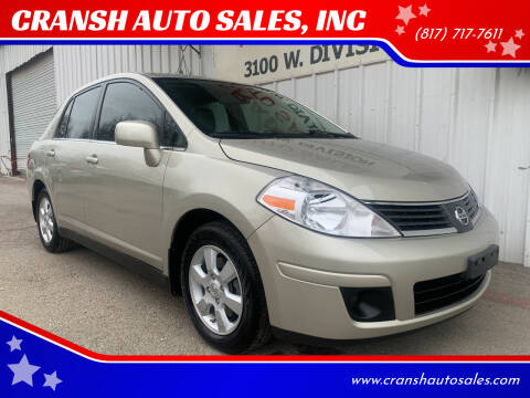 2007 Nissan Versa for sale at CRANSH AUTO SALES, INC in Arlington TX