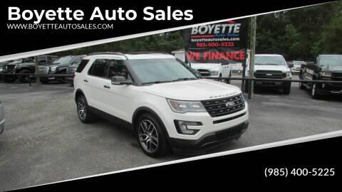 2016 Ford Explorer for sale at Auto Group South - Boyette Auto Sales in Covington LA