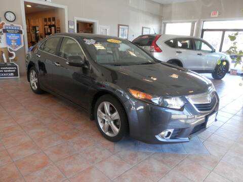 2013 Acura TSX for sale at ABSOLUTE AUTO CENTER in Berlin CT