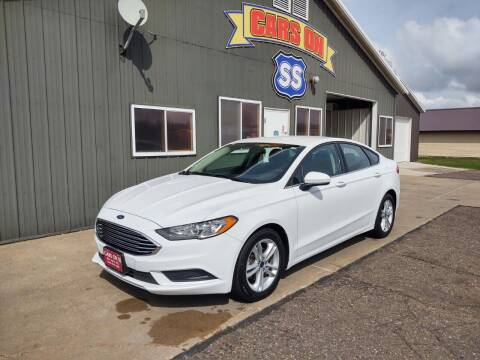 2018 Ford Fusion for sale at CARS ON SS in Rice Lake WI