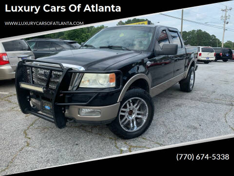 2005 Ford F-150 for sale at Luxury Cars of Atlanta in Snellville GA