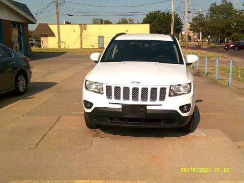 2016 Jeep Compass for sale at Discount Motor Sales LLC in Wichita KS
