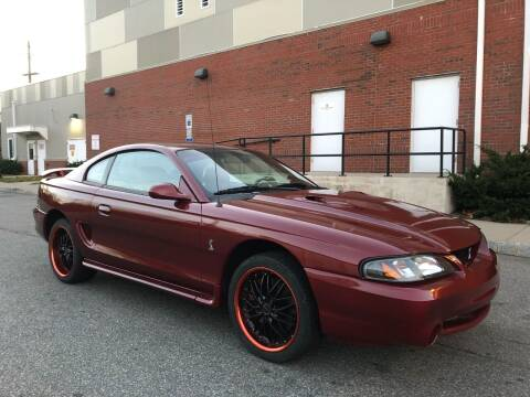 1996 Ford Mustang SVT Cobra for sale at Imports Auto Sales Inc. in Paterson NJ