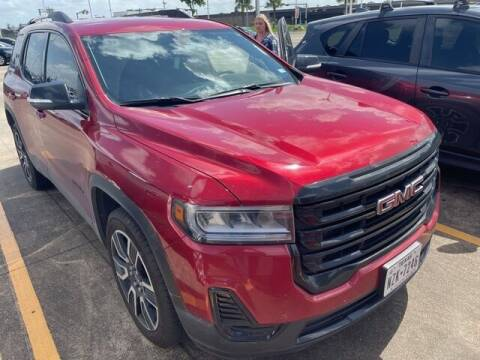 2021 GMC Acadia for sale at FREDY USED CAR SALES in Houston TX