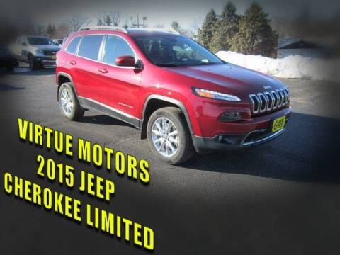 2015 Jeep Cherokee for sale at Virtue Motors in Darlington WI