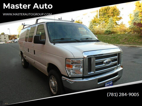2012 Ford E-Series Cargo for sale at Master Auto in Revere MA