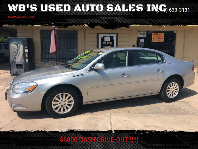 2008 Buick Lucerne for sale at WB'S USED AUTO SALES INC in Houston TX