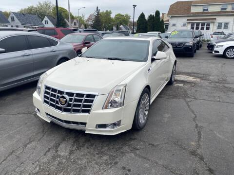 2013 Cadillac CTS for sale at CLASSIC MOTOR CARS in West Allis WI