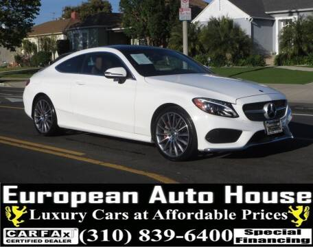 2018 Mercedes-Benz C-Class for sale at European Auto House in Los Angeles CA