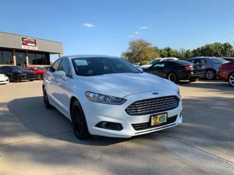 2016 Ford Fusion for sale at KIAN MOTORS INC in Plano TX