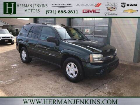2002 Chevrolet TrailBlazer for sale at Herman Jenkins Used Cars in Union City TN