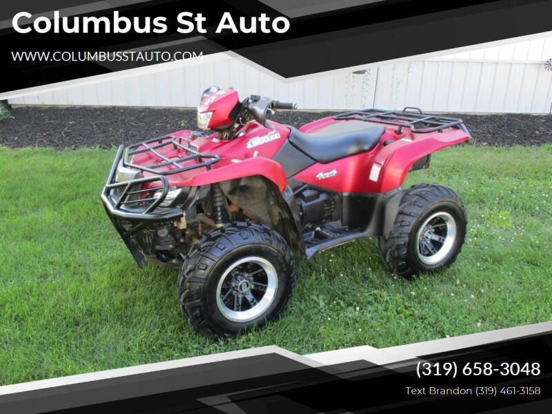 2014 Suzuki LT-A750 for sale at Columbus St Auto in Crawfordsville IA