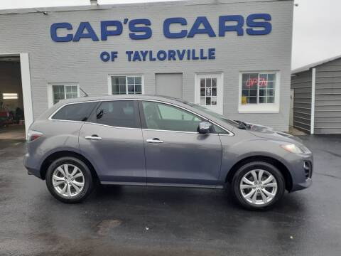 2010 Mazda CX-7 for sale at Caps Cars Of Taylorville in Taylorville IL