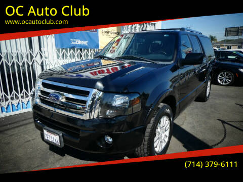 2014 Ford Expedition EL for sale at OC Auto Club in Midway City CA