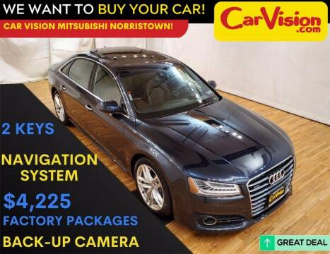 2017 Audi A8 L for sale at Car Vision Mitsubishi Norristown in Trooper PA