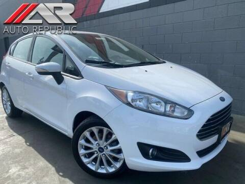 2014 Ford Fiesta for sale at Auto Republic Fullerton in Fullerton CA
