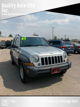 2007 Jeep Liberty for sale at Quality Auto City Inc. in Laramie WY