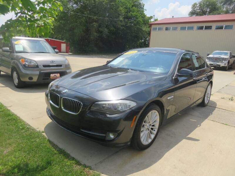 2011 BMW 5 Series for sale at Azteca Auto Sales LLC in Des Moines IA