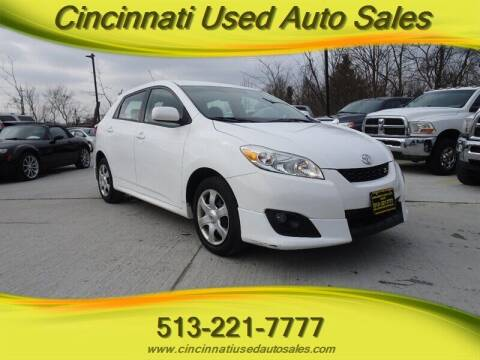 2010 Toyota Matrix for sale at Cincinnati Used Auto Sales in Cincinnati OH