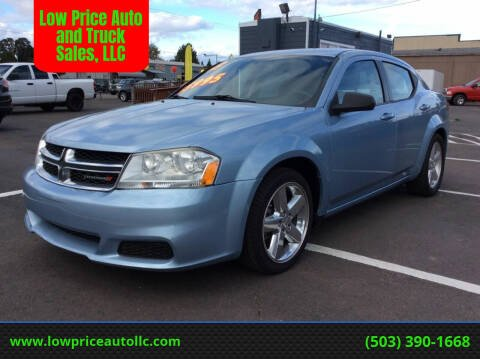 2013 Dodge Avenger for sale at Low Price Auto and Truck Sales, LLC in Salem OR