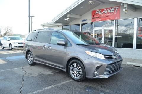 2018 Toyota Sienna for sale at PLANET AUTO SALES in Lindon UT