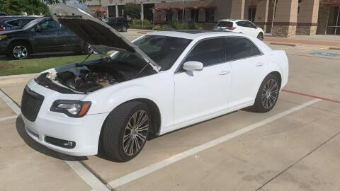 2012 Chrysler 300 for sale at DFW AUTO FINANCING LLC in Dallas TX