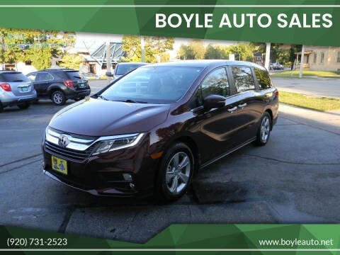 2019 Honda Odyssey for sale at Boyle Auto Sales in Appleton WI