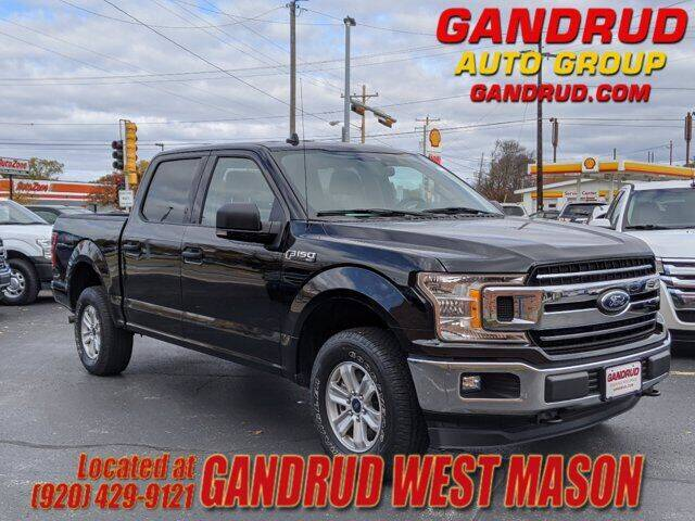 2019 Ford F-150 for sale at GANDRUD CHEVROLET in Green Bay WI