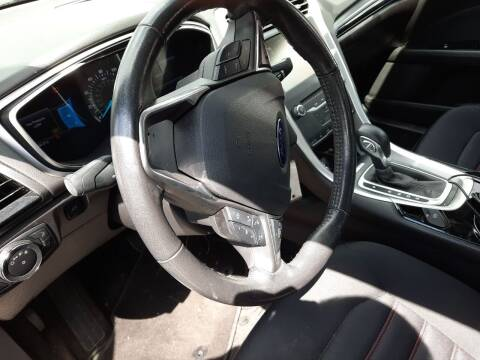 2013 Ford Fusion for sale at Harmony Auto Sales in Marengo IL