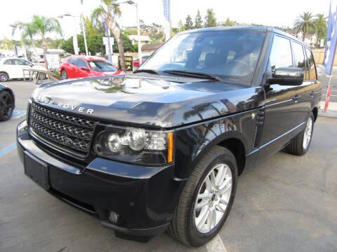 2012 Land Rover Range Rover for sale at Eagle Auto in La Mesa CA