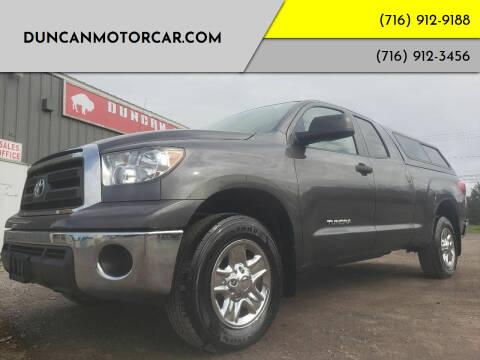 2011 Toyota Tundra for sale at DuncanMotorcar.com in Buffalo NY
