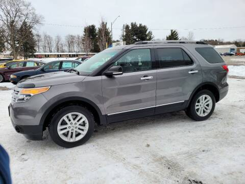 2013 Ford Explorer for sale at Finish Line Auto Sales Inc. in Lapeer MI