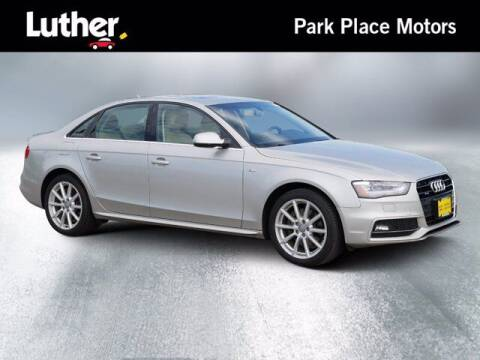 2014 Audi A4 for sale at Park Place Motor Cars in Rochester MN