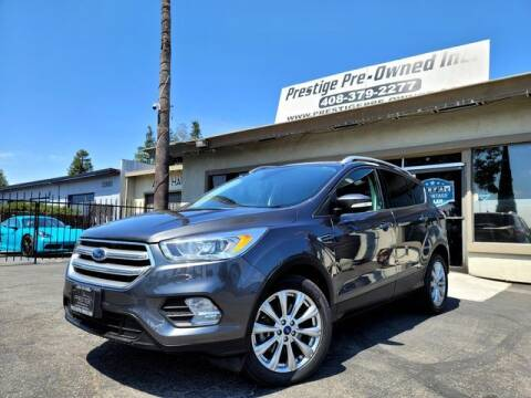 2017 Ford Escape for sale at PRESTIGE PRE OWNED INC in Campbell CA