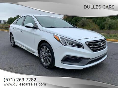 2016 Hyundai Sonata for sale at Dulles Cars in Sterling VA
