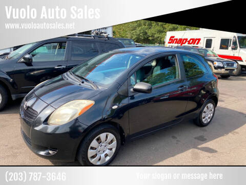 2007 Toyota Yaris for sale at Vuolo Auto Sales in North Haven CT