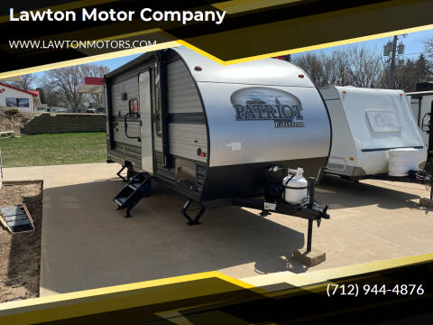 2020 Forest River PATRIOT for sale at Lawton Motor Company in Lawton IA