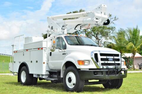 2010 Ford F-750 Super Duty for sale at American Trucks and Equipment in Hollywood FL