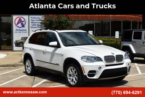 2013 BMW X5 for sale at Atlanta Cars and Trucks in Kennesaw GA