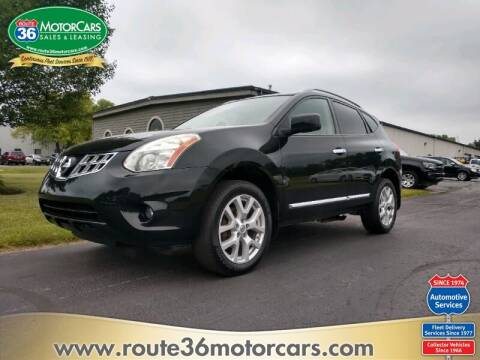 2013 Nissan Rogue for sale at ROUTE 36 MOTORCARS in Dublin OH