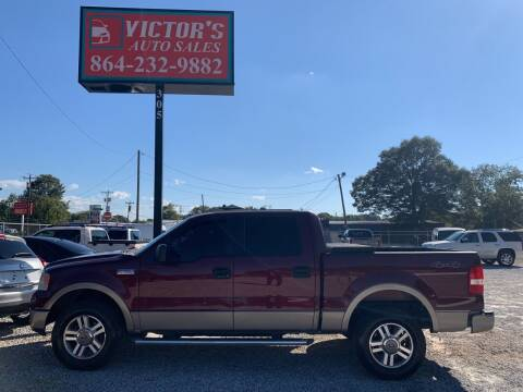 2005 Ford F-150 for sale at Victor's Auto Sales in Greenville SC