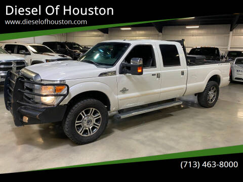 2013 Ford F-350 Super Duty for sale at Diesel Of Houston in Houston TX