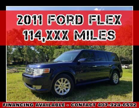2011 Ford Flex for sale at AFFORDABLE ONE LLC in Orlando FL